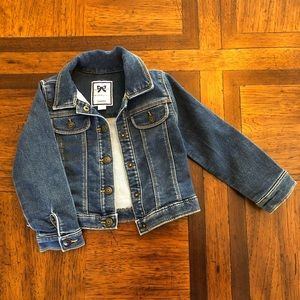 Toddler girl jean jacket
